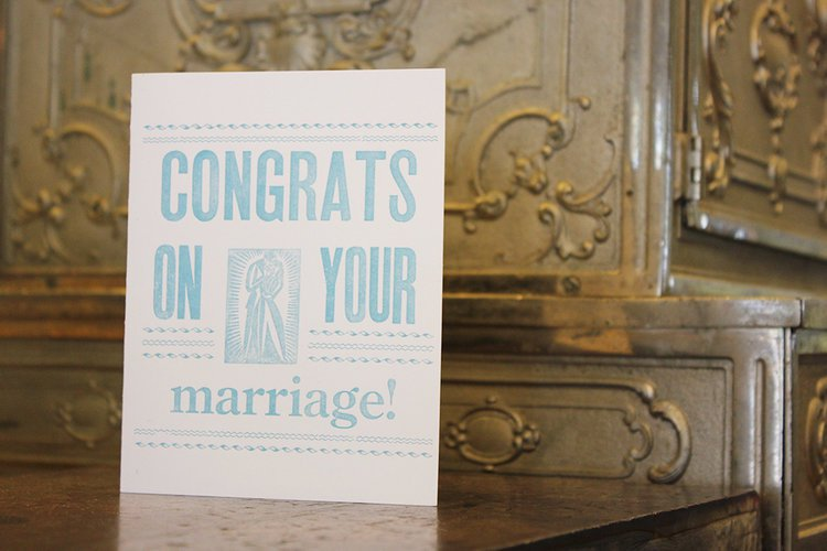 Congrats Marriage Card