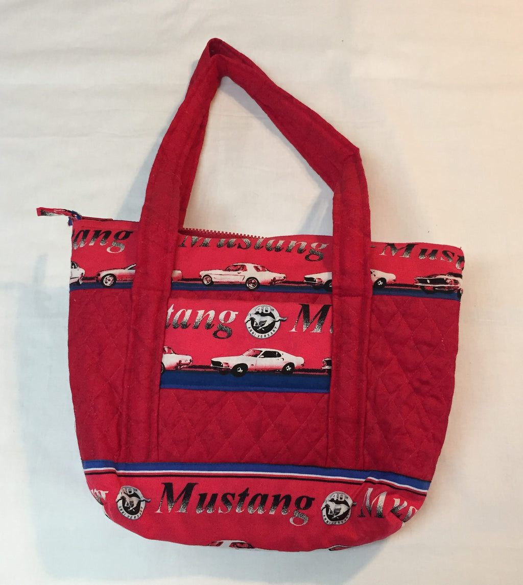 Mustang Classic Car Woman's Purse