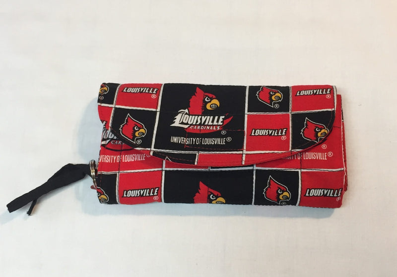 University of Louisville Clutch Purse