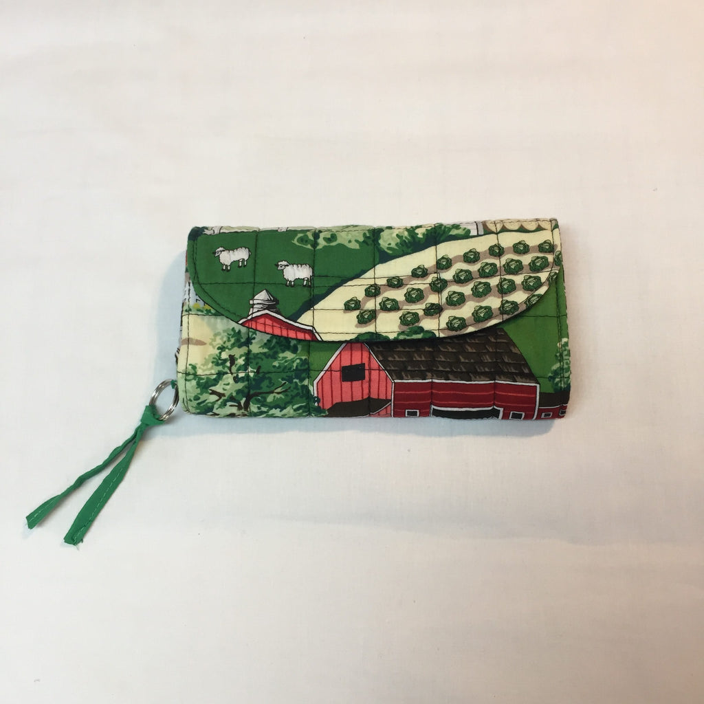 Pretty Farm John Deere Clutch Purse