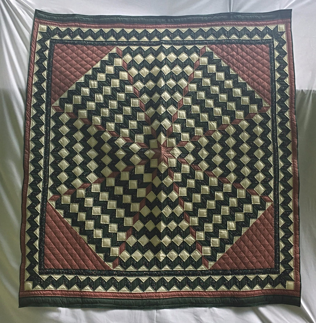 Twirling Ladies Heirloom Quilt