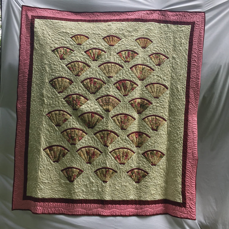 Mr. Hutcherson's Gift of Feathers & Fans Quilt