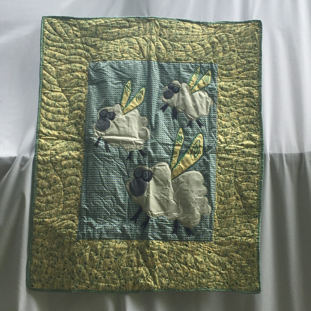 Fleeting Sheep Sleep Baby Toddler Quilt & Playmat