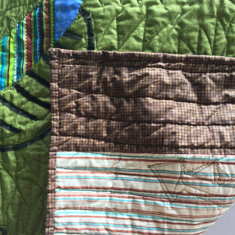 Dandy Dinosaur Baby Toddler Quilt & Playmat.