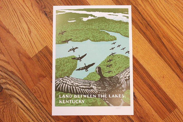 Land Between The Lakes Print