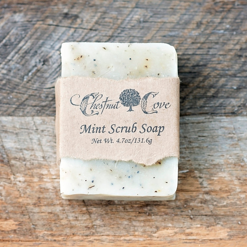 Mint Scrub Soap Bar
