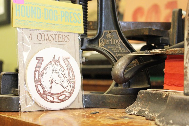 Horse Shoe Coaster Set of 4