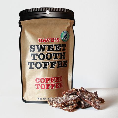 Dave's Sweet Tooth Toffee Coffee Toffee - 4 oz.