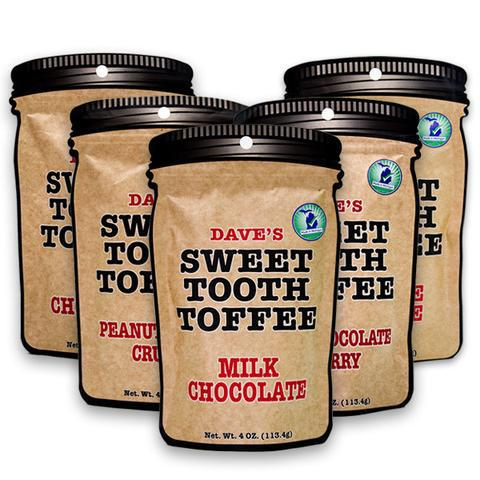 Dave's Sweet Tooth Toffee Pouch Collection