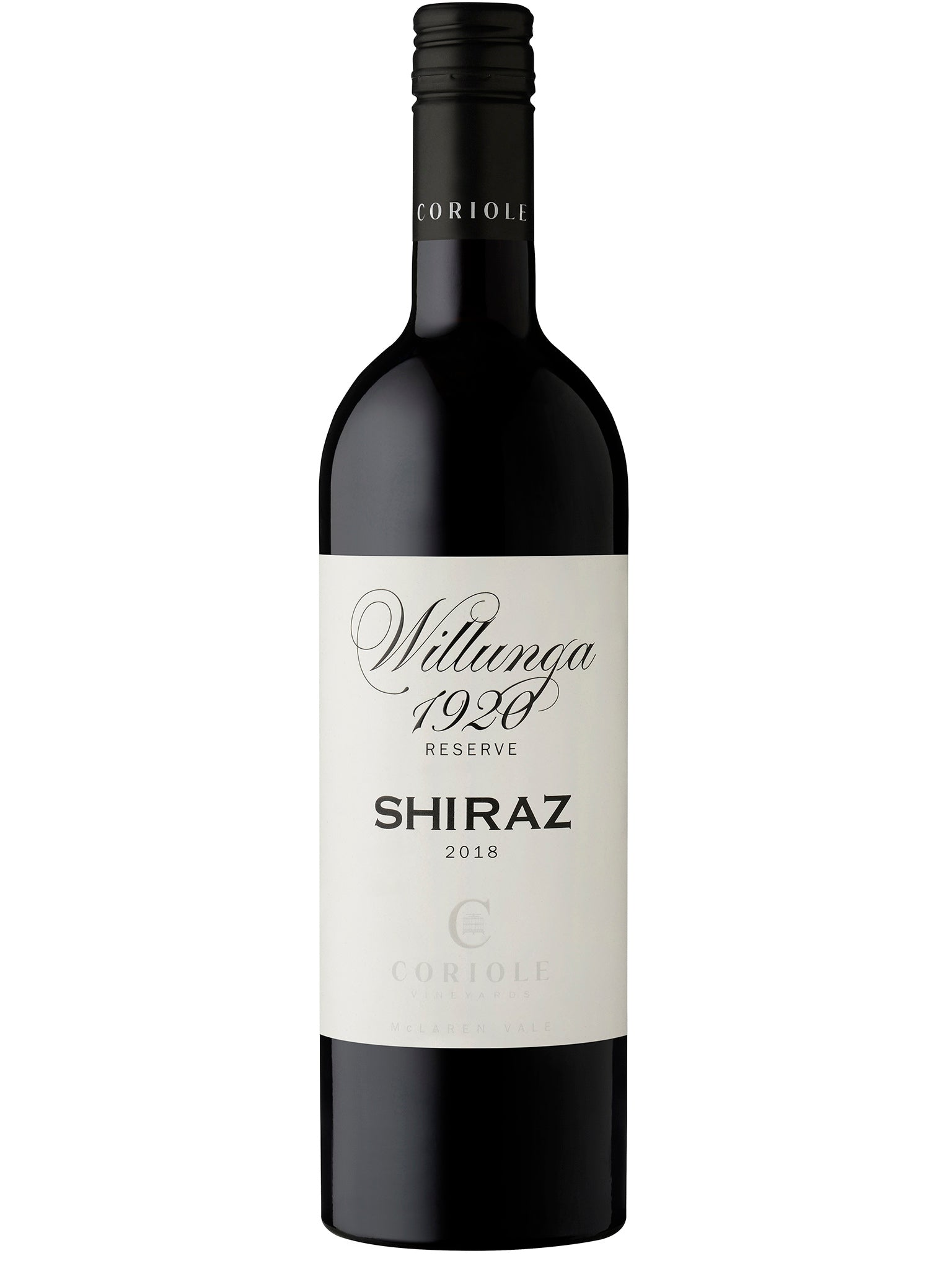 Coriole Willunga 1920 Shiraz 6pk 2018