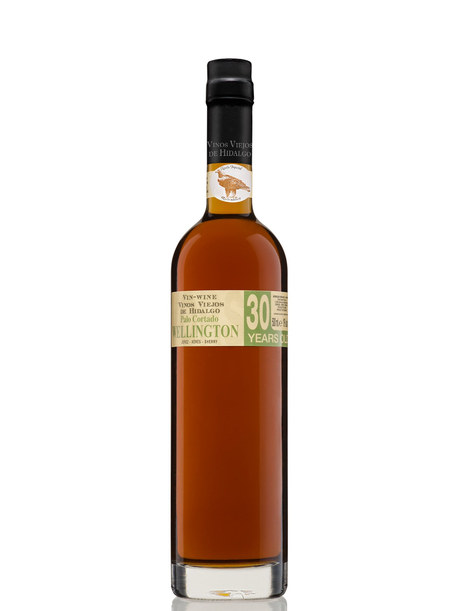 Hidalgo Wellington Palo Cortado VORS 30yrs 500ml 6pk