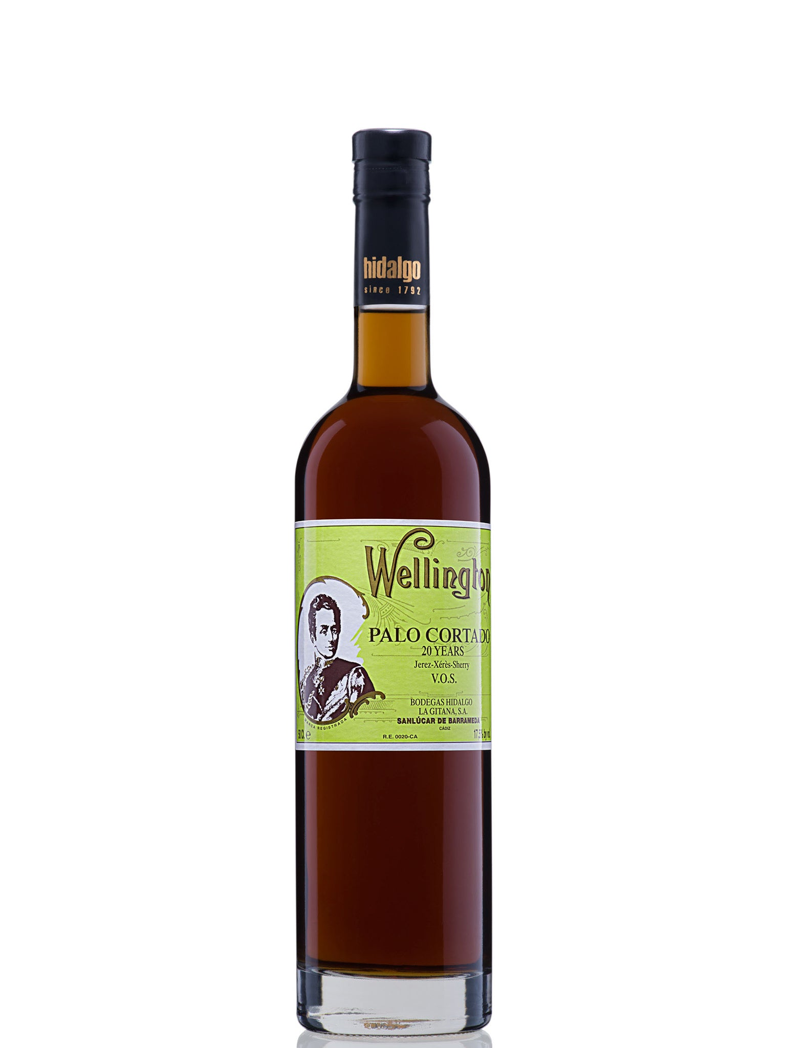 Hidalgo Wellington Palo Cortado VOS 20yrs 500ml 6pk