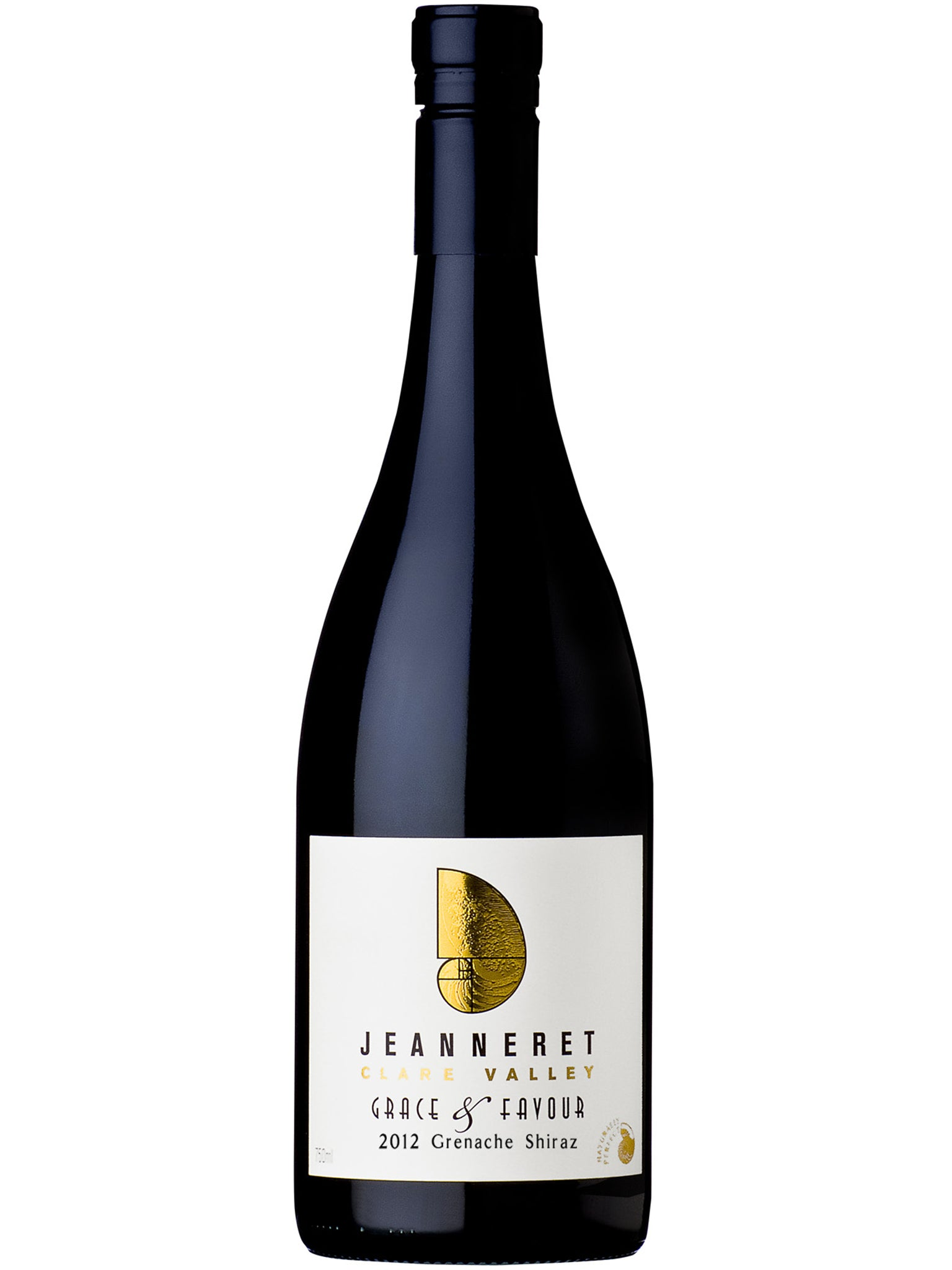 Jeanneret Grace & Favour Shiraz Grenache 12pk 2012 - Vigorous Bros