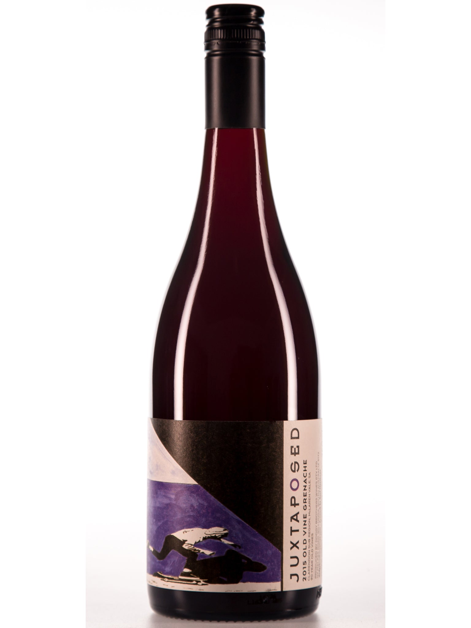 Juxtaposed Old Vine Grenache 12pk 2015 - Vigorous Bros