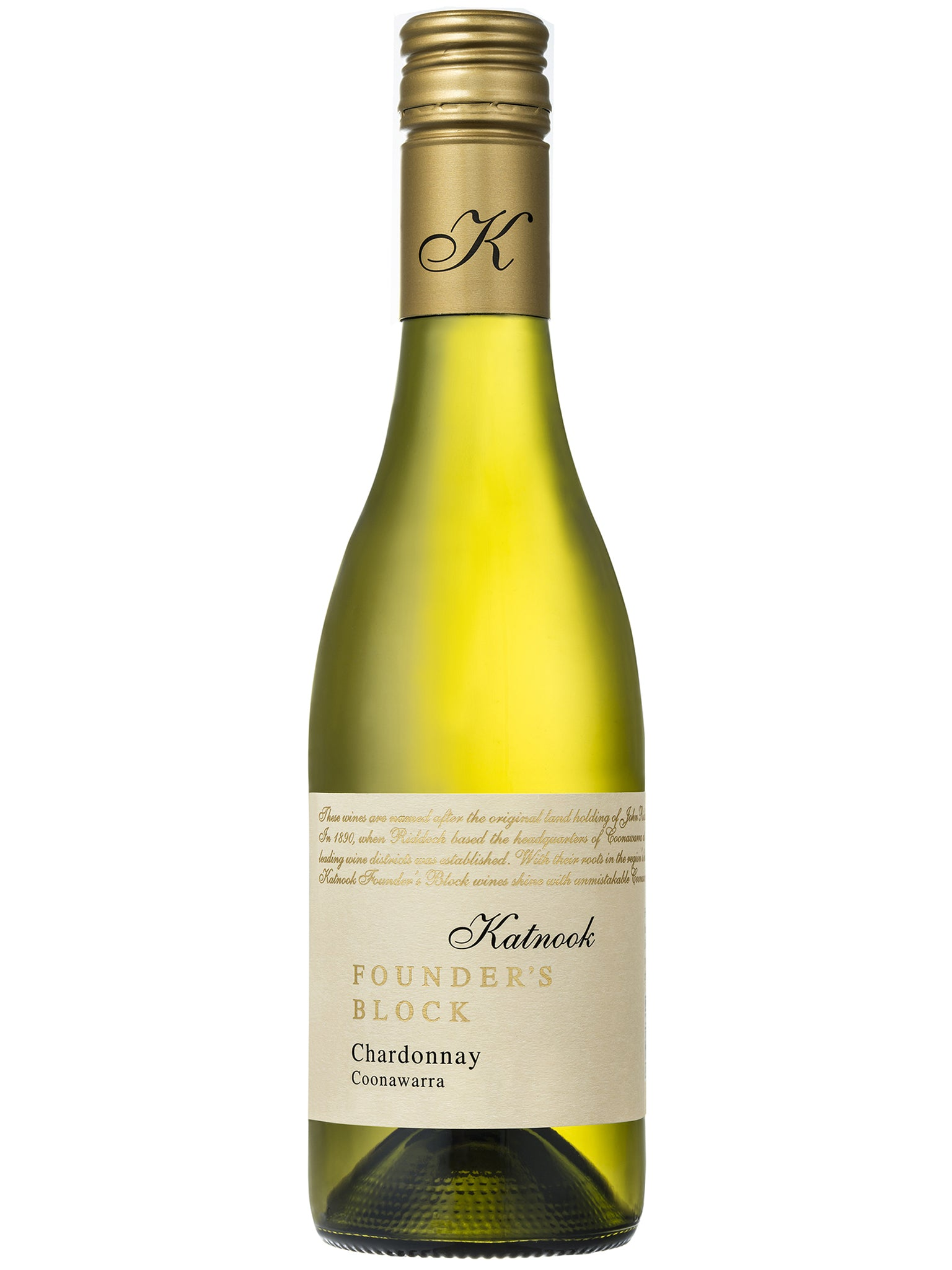 Katnook Founder's Block Chardonnay 375ml 24pk 2016