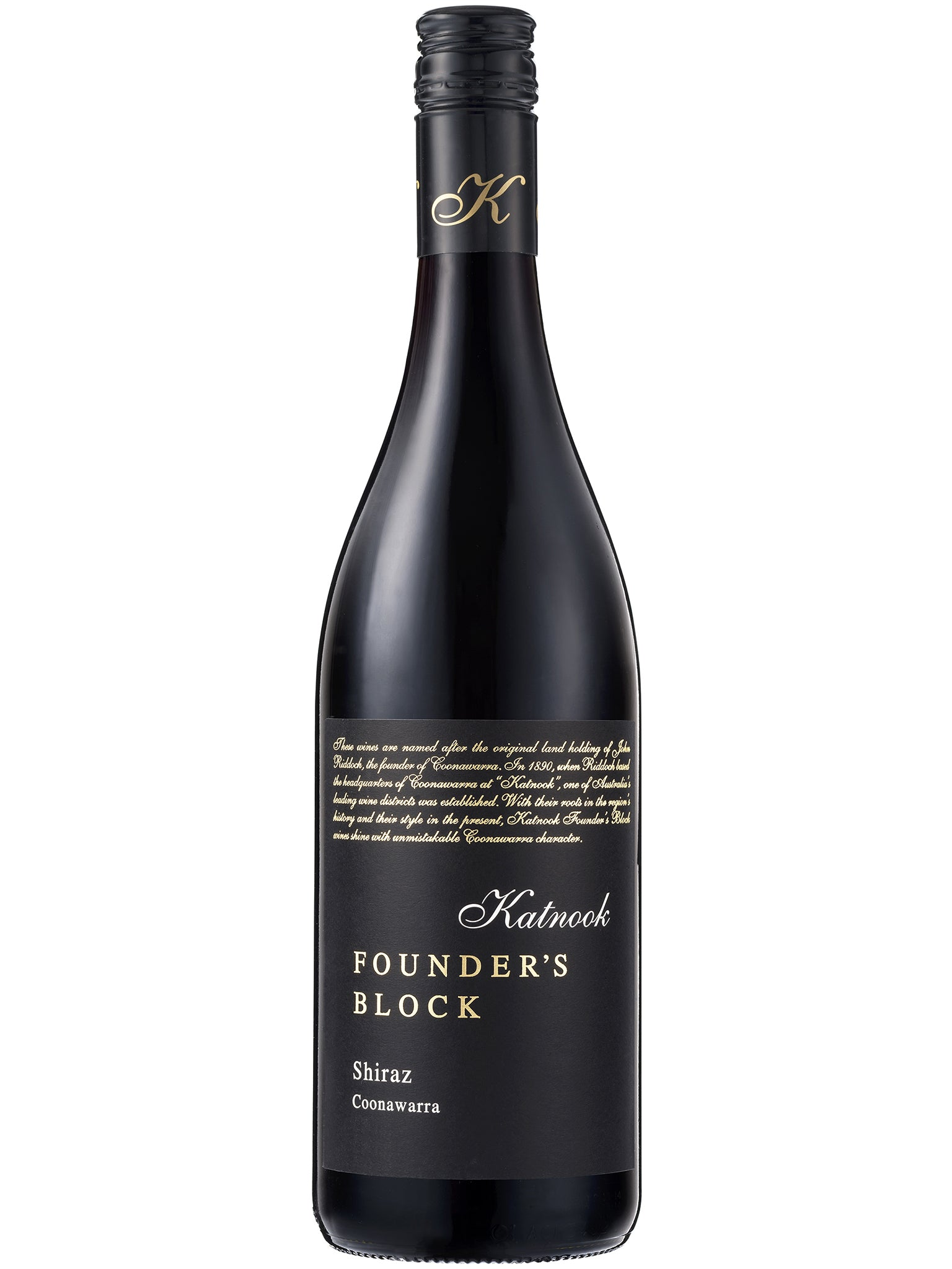 Katnook Founder's Block Shiraz 6pk 2016