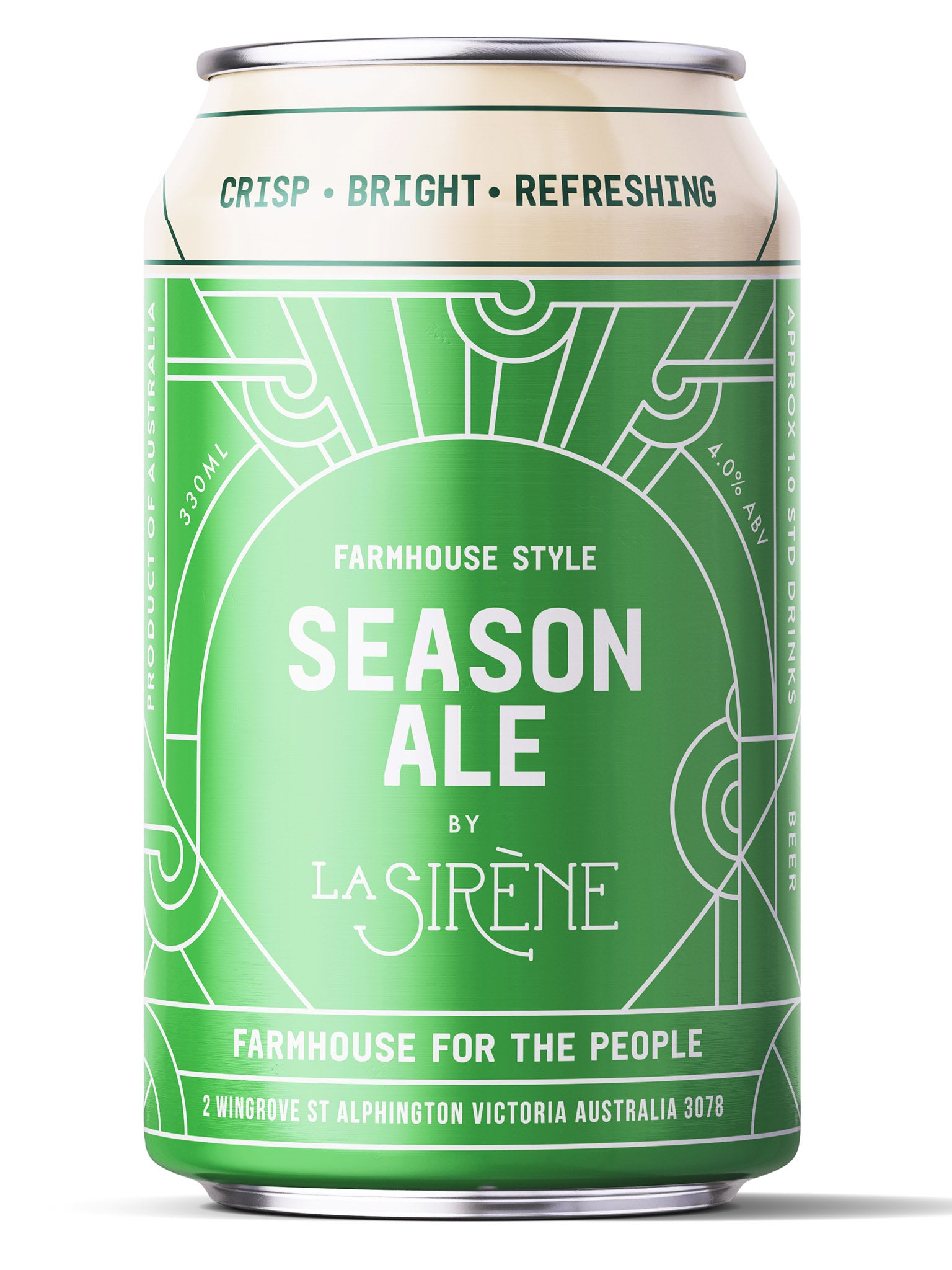 La Sirene Season Ale 330ml Can 24pk
