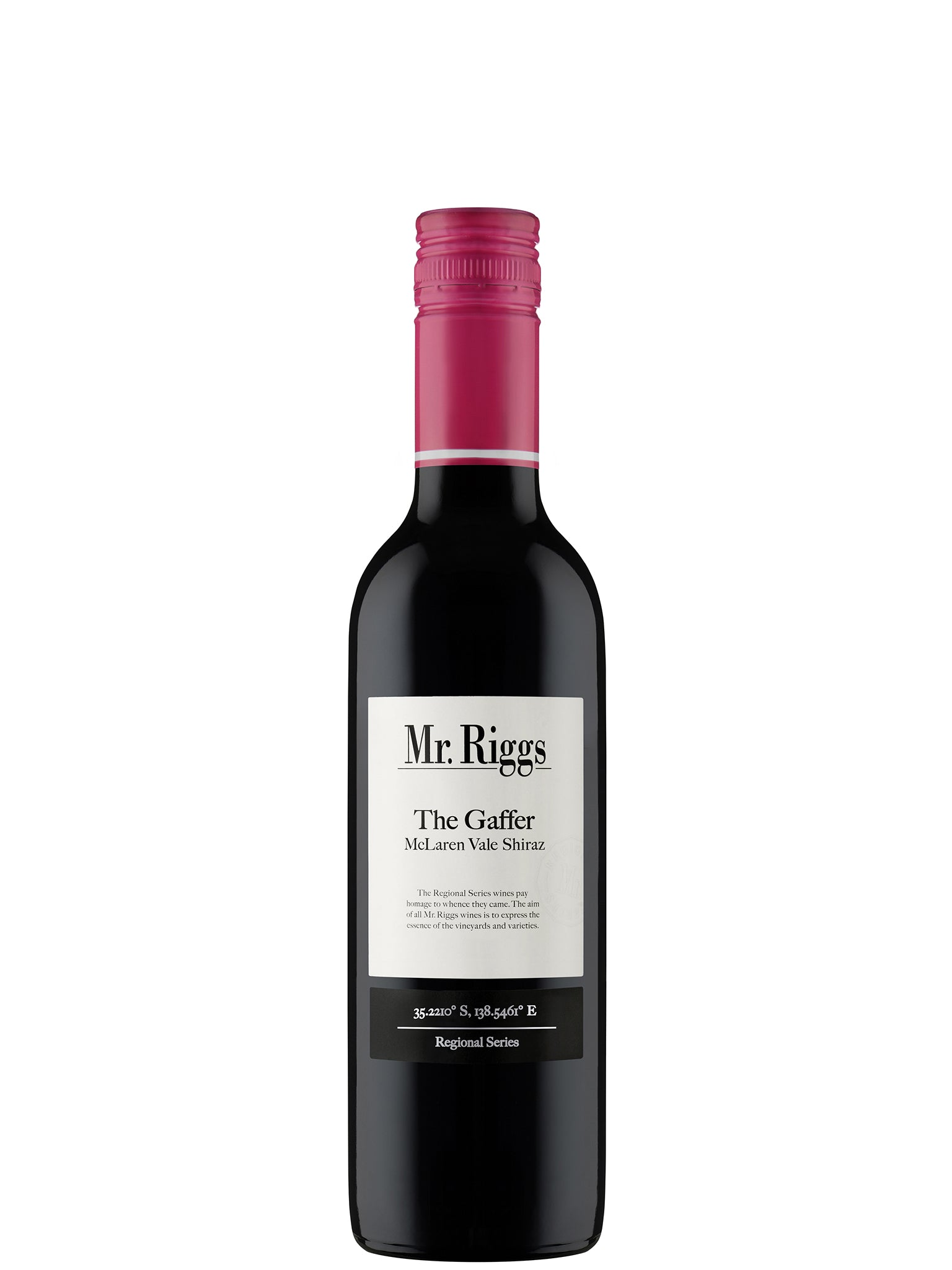 Mr. Riggs The Gaffer Shiraz 375ml 12pk 2018