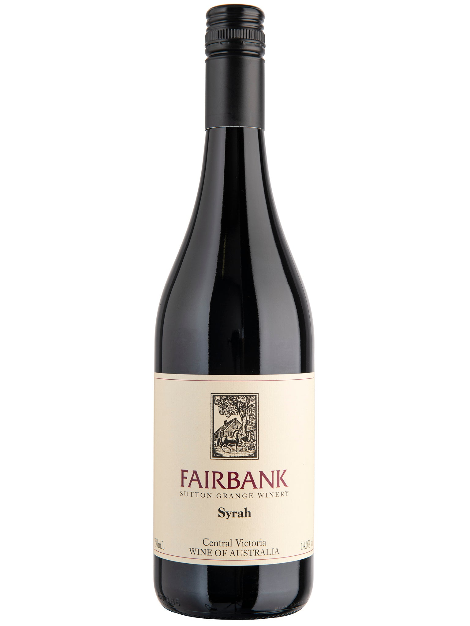 Sutton Grange Fairbank Syrah 12pk 2018