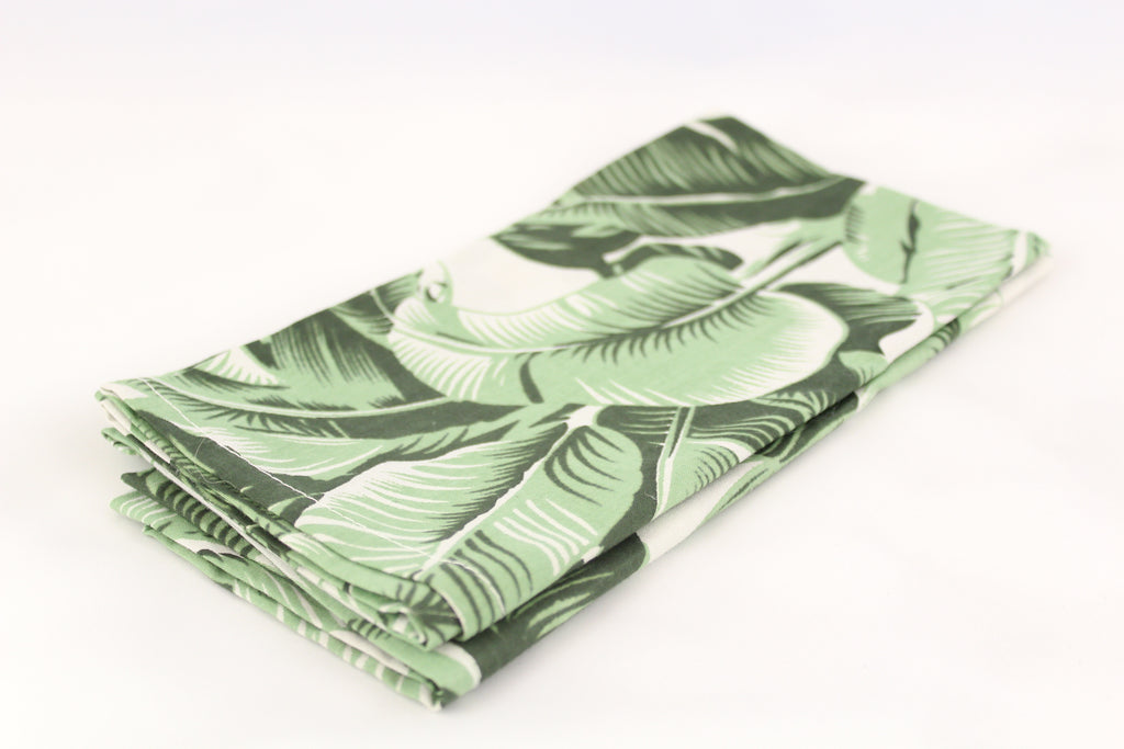 Handmade Tropical Napkins