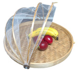 Flat Bamboo Food Cover - 40cm