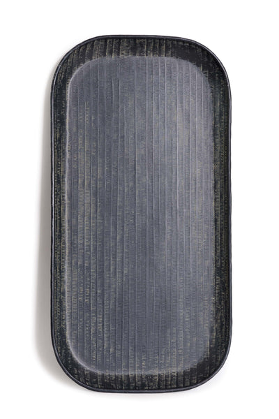 Black Serving Tray  - Large