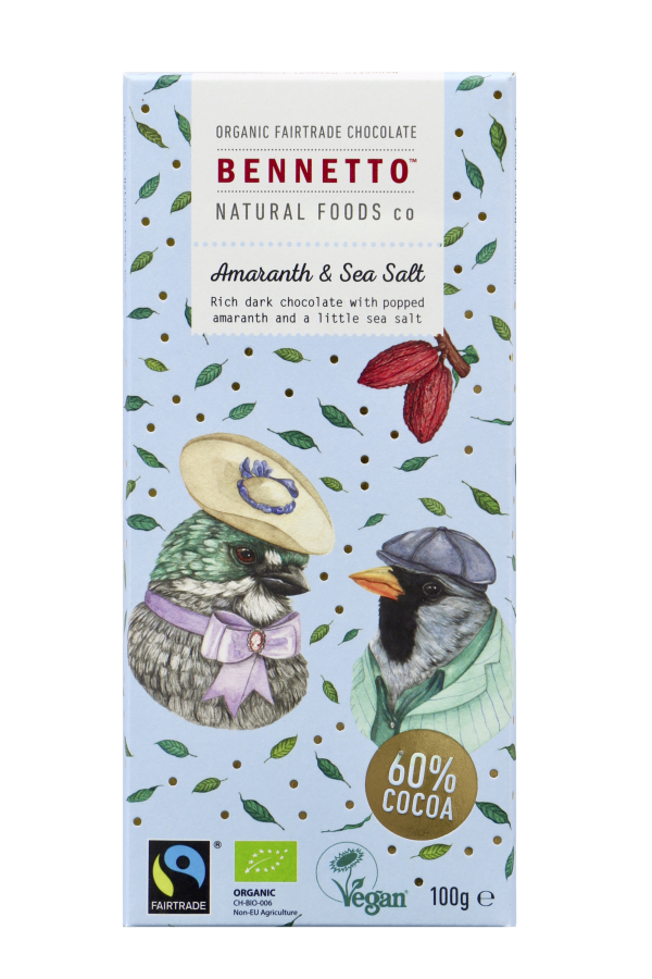 Bennetto Chocolate 100g