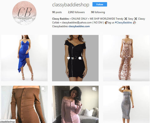 Classy Baddies Instagram - New items for Women's Clothing