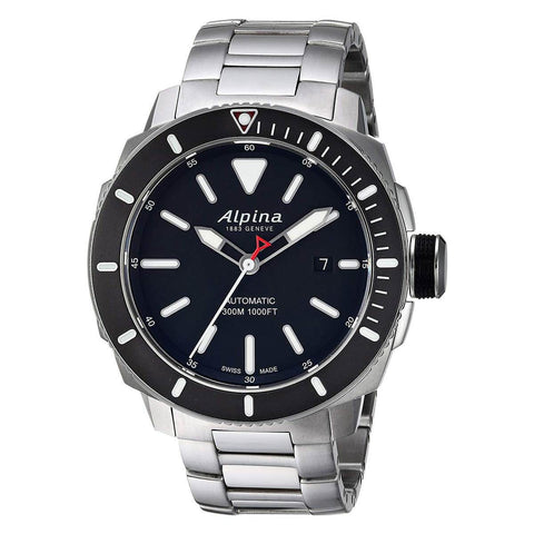 Alpina Men's Steel Bracelet Watch