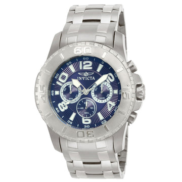 Invicta 15020 Mens Pro Diver Scuba II Blue Dial Steel Bracelet Quartz Watch