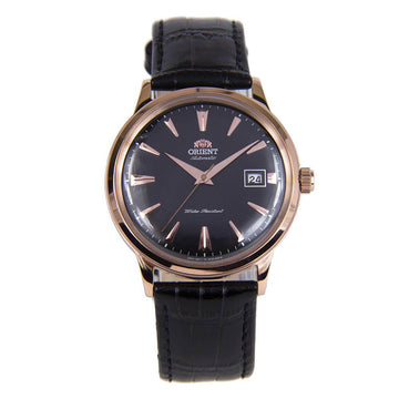 Orient Men's Automatic Watch - Bambino II Black Leather Strap | AC00001B