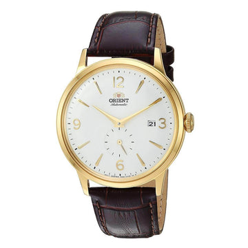 Orient Men's Automatic Watch - Bambino Small Seconds Leather Strap | AP0004S10A
