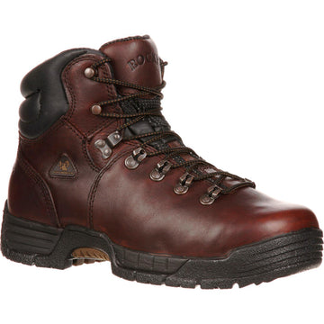 Rocky Men's Boot - Dark Brown 11W Leather | 6114-110-W