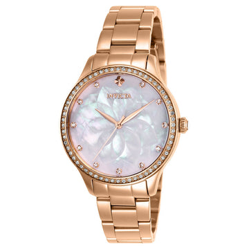 Invicta Women's Watch - Wildflower Rose Gold Plated Stainless Steel Bracelet | 28057