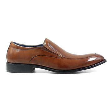 Stacy Adams 25150-221 Men's Jace Cognac Slip On