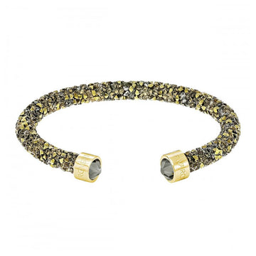 Swarovski Women's Cuff Bracelet - Crystaldust, Small - Multicolored Gold | 5372883