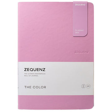 Zequenz Classic 360 Notebook - The Color A5, Blank, Lilac | 360-TCJ-A5-LITE-LLB