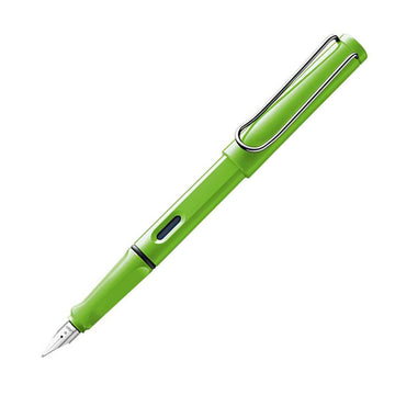 Lamy L13 Safari Green Medium Nib ABS Plastic Body Fountain Pen