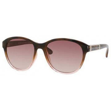 Marc Jacobs MMJ225S0NBO Brown Gradient Lenses Women's Cat Eye Brown Blue Plastic Frame Sunglasses