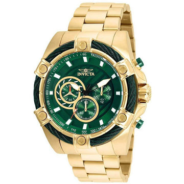 Invicta Men's Chronograph Watch - Bolt Yellow Gold Stainless Steel Bracelet | 25517