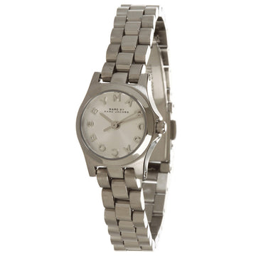 Marc by Marc Jacobs MBM3198 Women's Henry Dinky Silver Dial Stainless Steel Watch