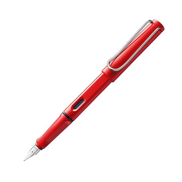 Lamy L16 Safari Red Broad Nib ABS Plastic Fountain Pen