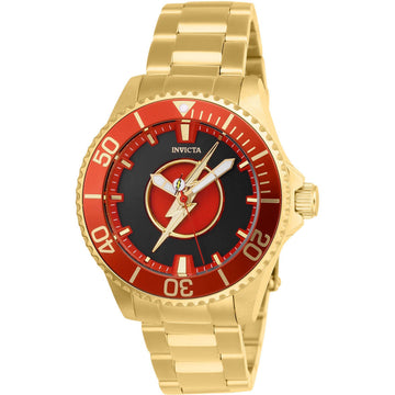 Invicta Women's Automatic Watch - DC Comics Black and Red Dial Bracelet | 26907