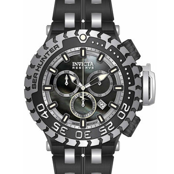 Invicta Men's Chronograph Watch - Sea Hunter Quartz Two Tone Steel Bracelet | 34596
