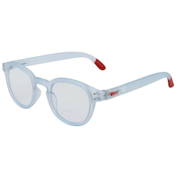 B+D Unisex Eyeglasses - Digital Screen Full Rim, Matte Light Blue | 2285-56