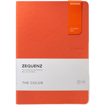 Zequenz Classic 360 Notebook - The Color A5, Ruled, Grenadier | 360-TCJ-A5-LITE-GDR