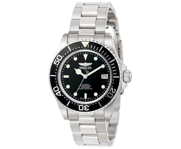 Invicta Men's Automatic Stainless Steel Watch - Pro Diver Black Dial | 8926C