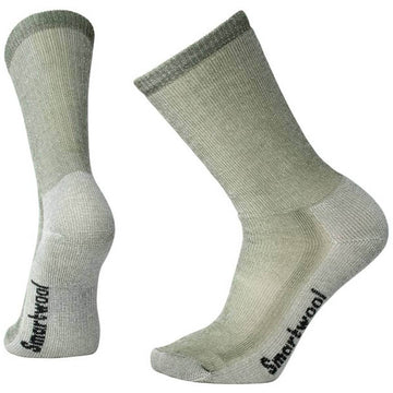 Smartwool Men's Crew Socks - Medium Hiking, Sage, Large | SW0SW130-364-L