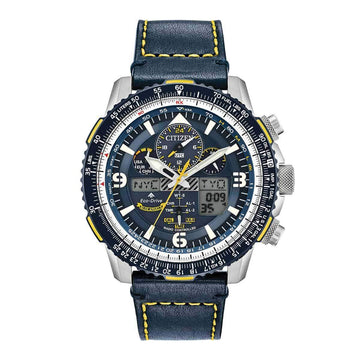 Citizen Men's Chronograph Watch - Promaster Skyhawk A-T Blue Strap | JY8078-01L