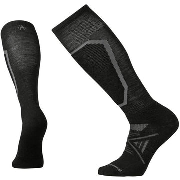 Smartwool Men's Over the Calf Socks - PhD Ski Medium, Black, Large | SW015032-001-L